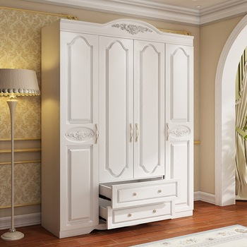 2017 Modern Wooden Almirah Designs Bedroom Wardrobe For