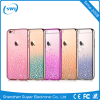 Chirstmas Stock Rainbow Crystal Diamonds Hard PC Back Phone Protective Shell Cover Case For iPhone 6 6S Plus