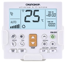 CHUNGHOP K-650E New LCD Universal Air Conditioner Remote Control LED Backlit Wall Mounted AC Control