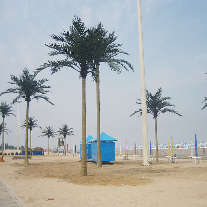 China Supplier Big Outdoor Decorate Artificial Date Palm Tree