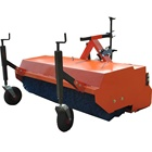 China New Farm mini Tractors used 3 point hitch pto driven street sweeper brushes road sweeper for sale