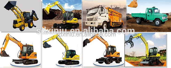 China Xiniu Xn08 0.8ton 800kgs Small Mini Little Excavator Small ...