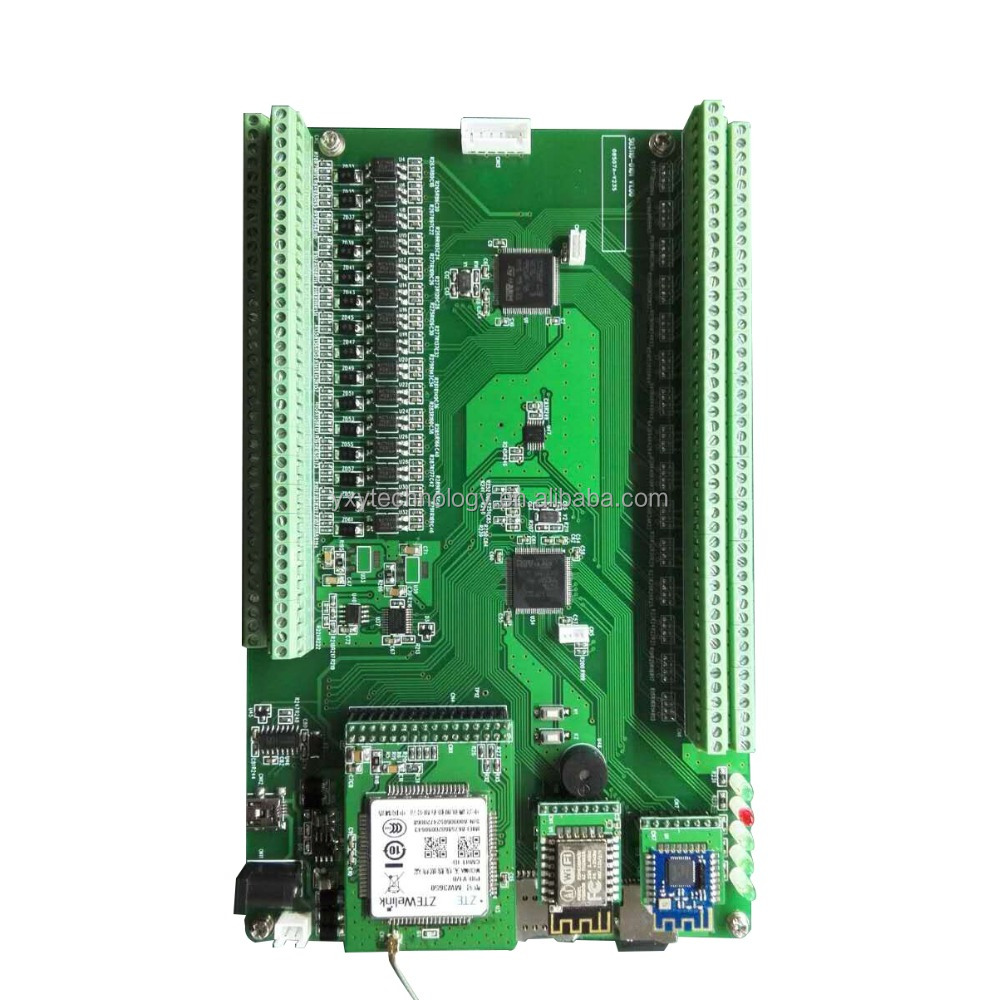 Voltage&Current&Temperature&Dry Contact Signal Collectors Remote Monitors Mater Board, Accept Custom Appearance