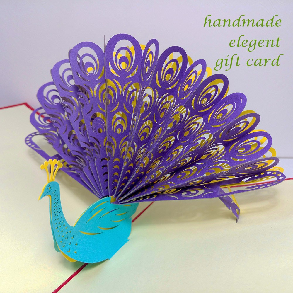 Wholesale Handcraft American 3d Greeting Card Design Your Own