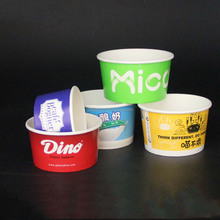 FOB Shenzhen 3 4 4.5 8 10 oz Ice cream paper cups yogurt paper cups