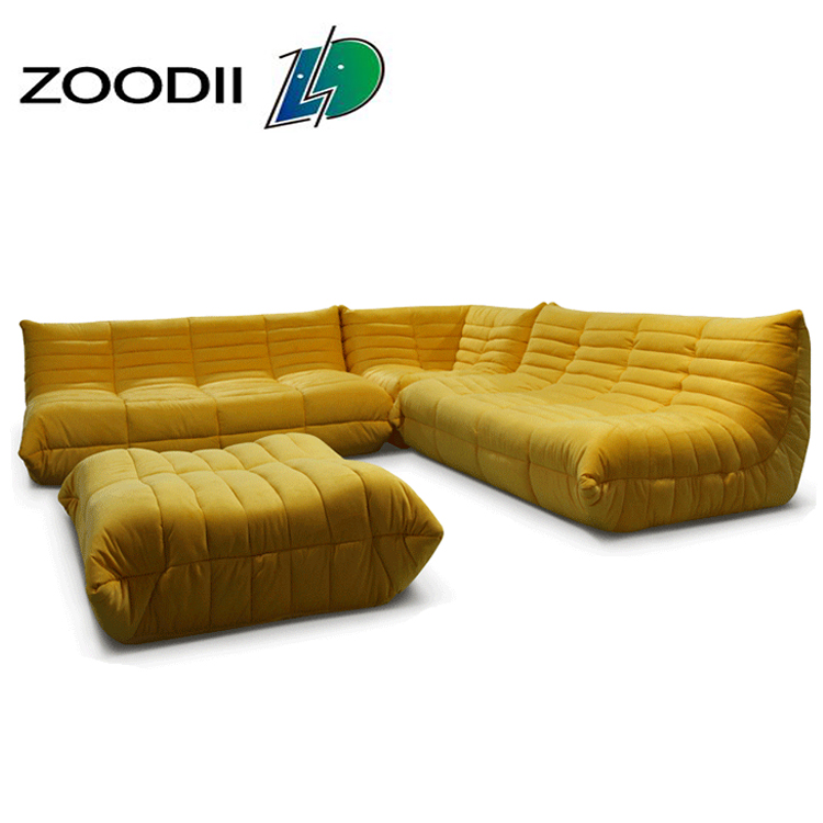 Modern appearance design togo <strong>sofa</strong> 1+2+3 waverunner <strong>sofa</strong> set