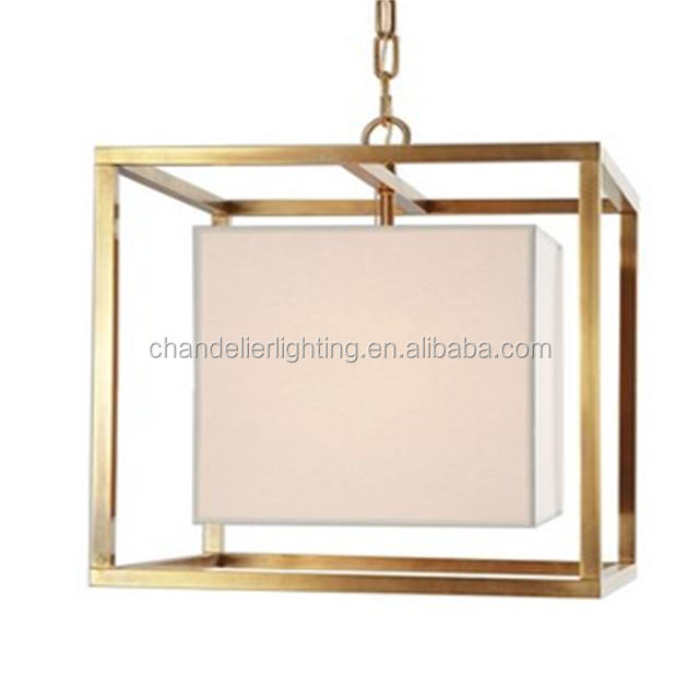 American new design golden wrought iron pendant light with high quality