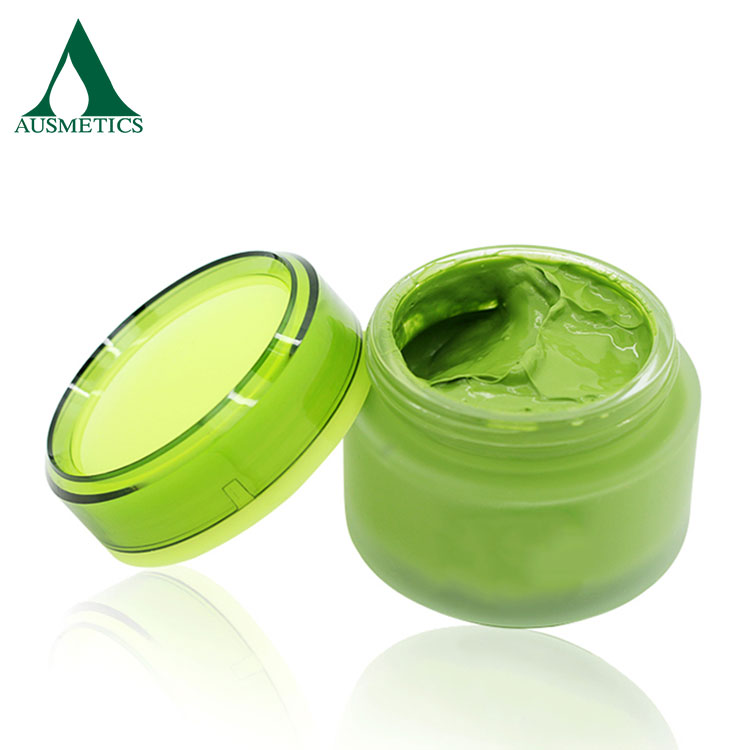Private Label Glowing Skin Anti Aging Matcha Facial Cream With Green Tea Extract