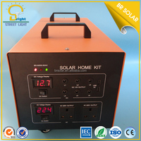 Solar energy off grid connected solar home system 500w solar power for lighting