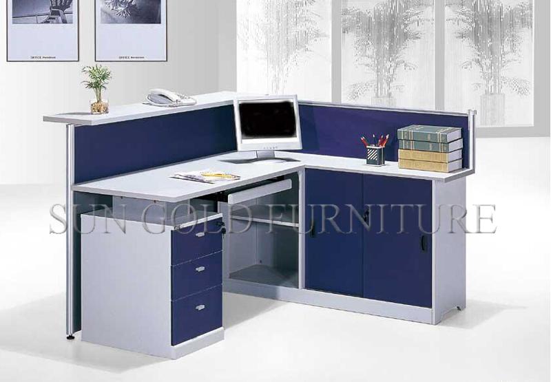 Hot Sale China Supplier L Shape Typical Office Reception Desk(sz ...