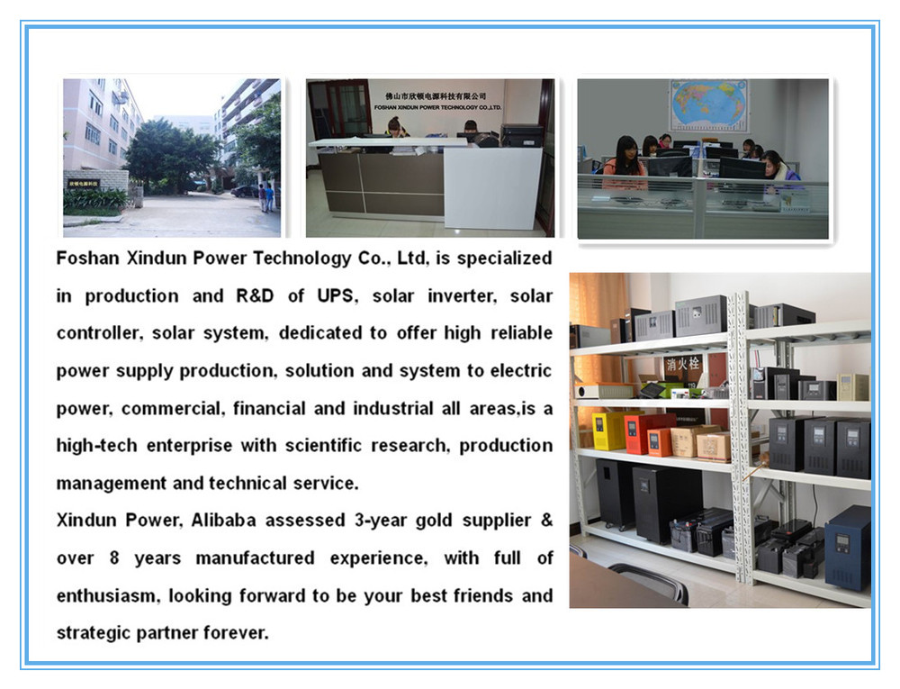 Xindun W9 Series 3000W Pure Sine Wave Inverter 3000W Solar Power Inverter