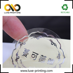 Self adhesive a4 transparent adhesive sticker label for fabric
