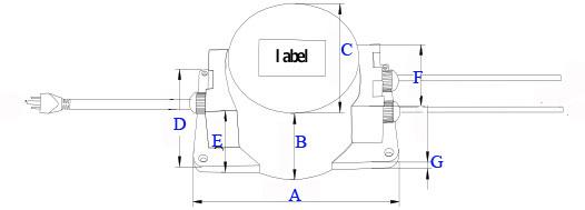 waterproof v va toroidal transformer for power buy waterproof 12v 30va toroidal transformer for power
