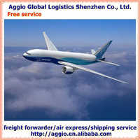 Air freight and express forwarder for professional make up brush set air logistics