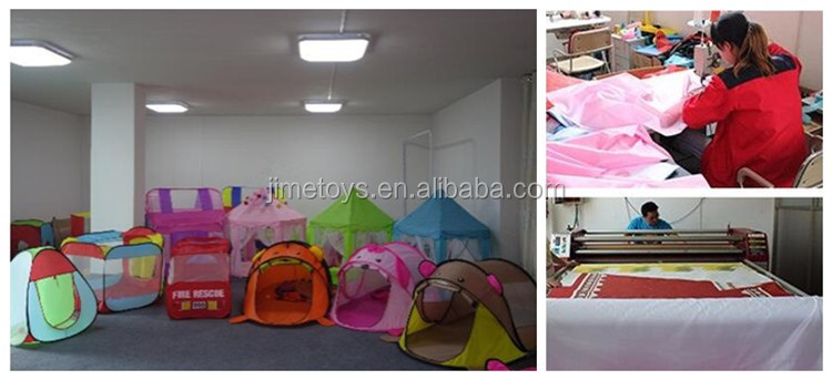 JT022 Indoor and Outdoor Children Game Play Toys Tent