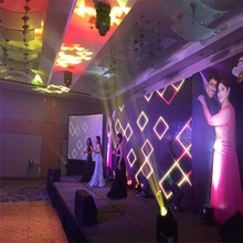 Hot selling full color indoor LED screen, pitch p2.97mm fliexible display for stage rental