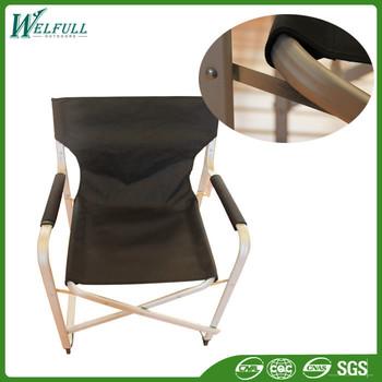 Lightweight Metal Frame Aluminum Canvas Folding Director Chair