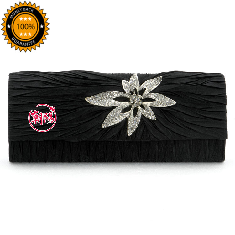 2015 New fashion! Upscale Evening Bag/ Elegant female Handbag / lady handbag / Women Purse / Cluthes / Party bag with flower