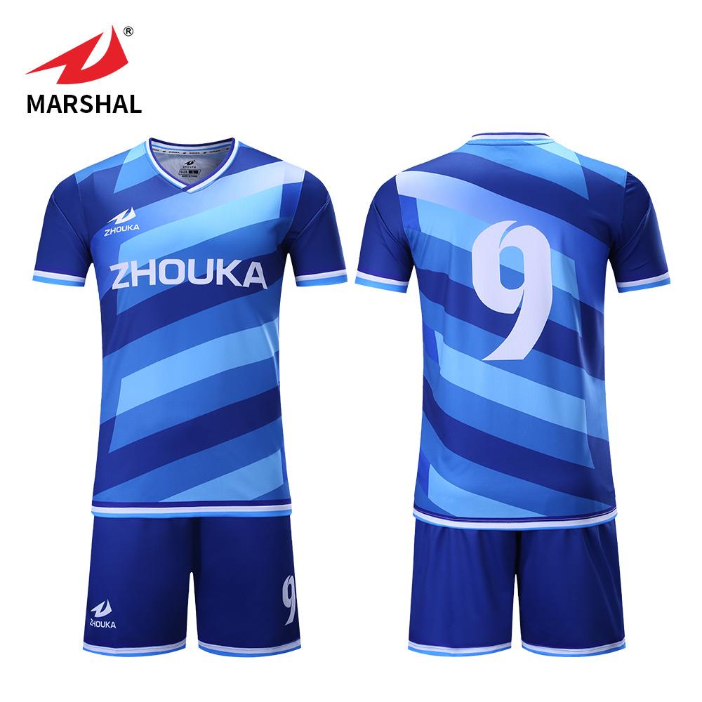 2901b1a8042 New Season Custom Sublimated Soccer Jersey Sets Football Club Shirts Futbol  Uniforms Kit Sports Jersey For Men
