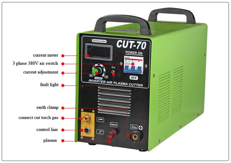 Mianstay Cheap Chinese Plasma Cutter Machine Cut60 Mosfet Tube ...