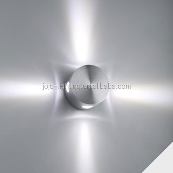 4x1W led wall lamp with driver
