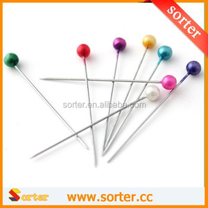 wholesale carpet corsage safety pin/beaded corsage pins