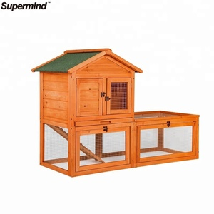 Wooden Pet House Bunny Rabbit Hutch House