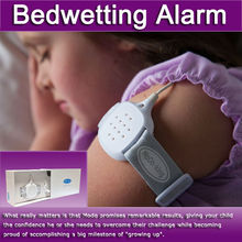baby bedwetting alarm baby wet reminder pager enuresis treatment device