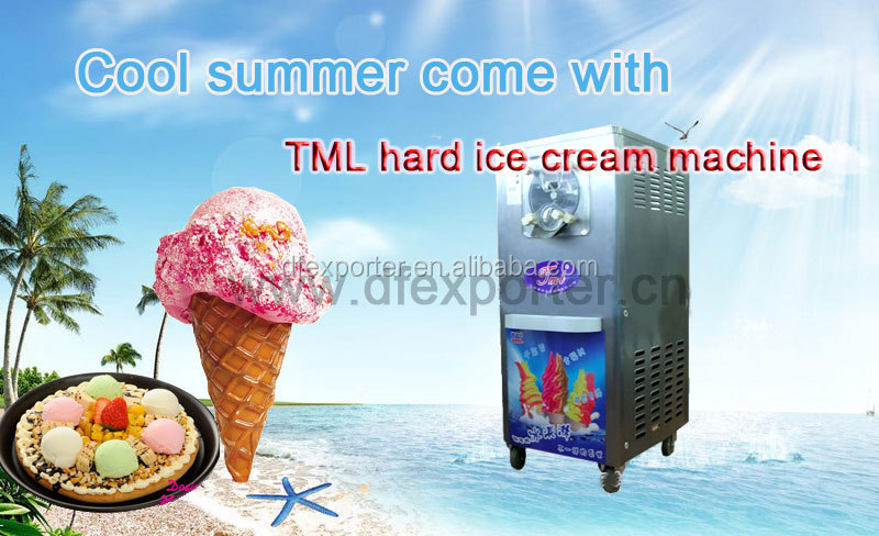 earn money easily TML40 hard ice cream maker hot