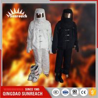 With Head Hood Fireproof Clothing Work Clothes