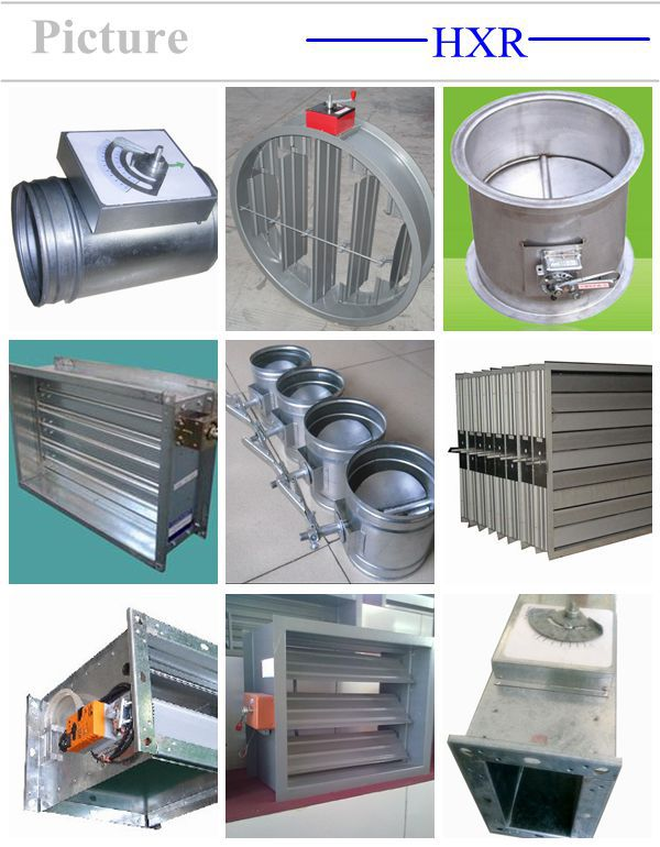 Volume Control Damper : Air volume control damper ventilation fire buy