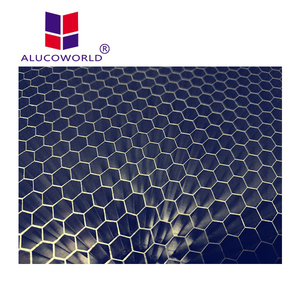 Alucoworld aluminum polypropylene honeycomb panels