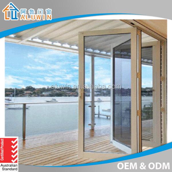 Thermal Break Aluminum Bifold Doors For Balcony   Buy Bifold Door,Bifolding  Door,Bi Fold Door Product On Alibaba.com