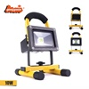 2019 tik tok hot selling products High quality IP65 waterproof Rechargeable outdoor And Indoor portable led flood light 10w