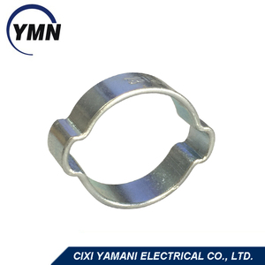 Leading manufacturing professional producing more than 10 years high quality stainless steel double ear clamps