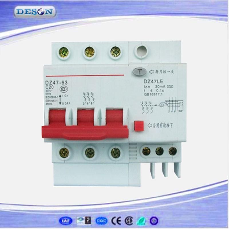 Ac 380v Mini Circuit Breaker 3 Poles3 Phase 3 Wire Mcb Circuit – Mcb Wiring Diagram