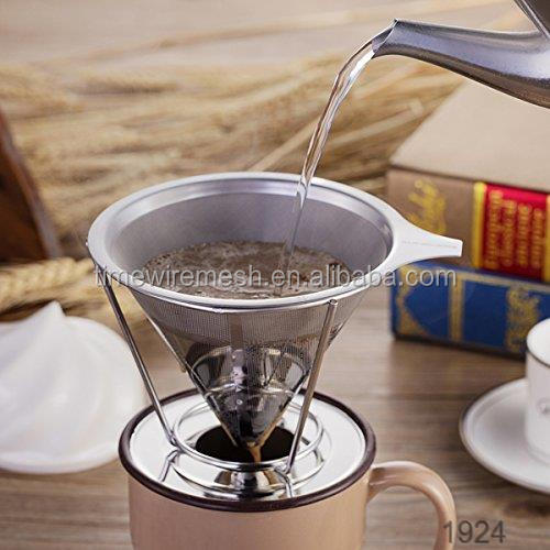 Alibaba tread assurance vietnamese hand filter coffee maker with holder