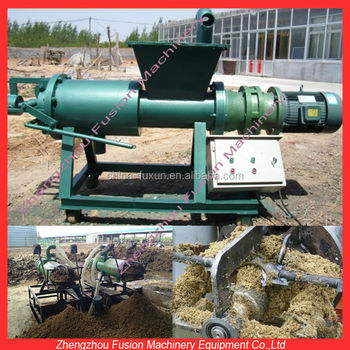 cow manure dewater manure compost manure processing machine - Chicken Manure