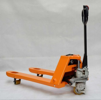 Quick Lift Hand Pallet Trucks Batteryed Semi Electric Truck Electronic Scale