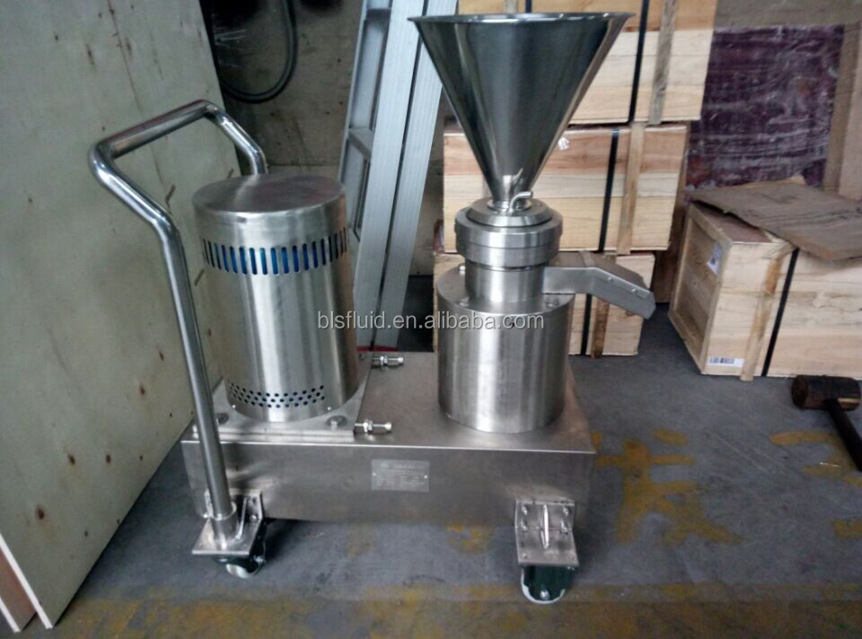 JMF-120 ss316 mayonnaise making machine with trolley
