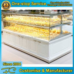 FC-FK0161 Customizable pastry display cabinet with drawers