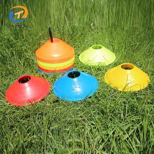 Factory sale various good quality sports agility training soccer roller cones