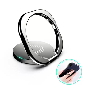 360 Degree Luxury Metal Finger Ring Holder Mobile Phone Smartphone Stand Holder Ring