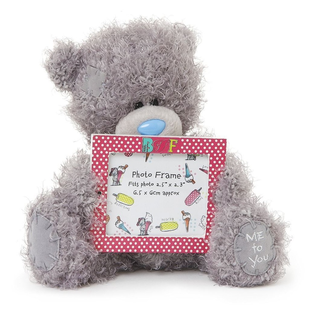 Cute Custom Plush Teddy Bear Photo Frame - Buy Plush Photo Frame ...