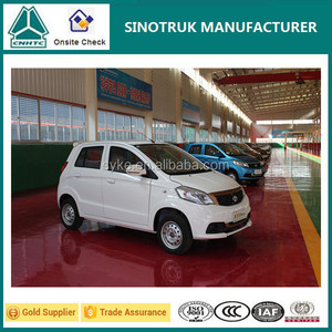 Chinese White Street Legal Electric Car/vehicle with Rubber Tires