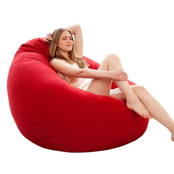 Comfortable Lounger Waterproof Bean Bag Chair Outdoor Giant Bean Bag Sofa  Chair - Buy Giant Bean Bag Chair,Bean Bag Sofa Chair,Waterproof Bean Bag ...