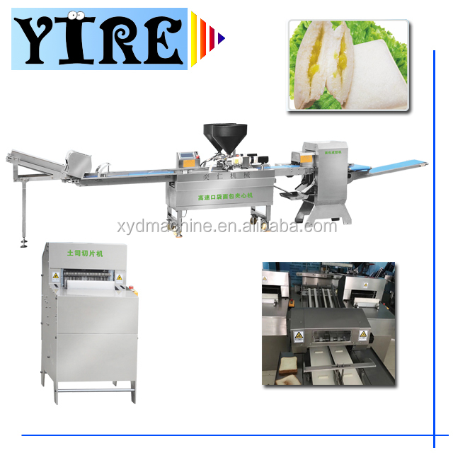 bread making machine/Slicer,filling cream and form machine,bakery equipment