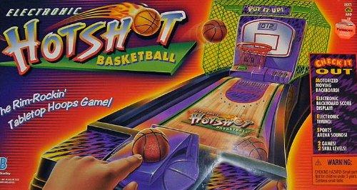 Electronic Hot Shot Basketball Tabletop Game (1997)