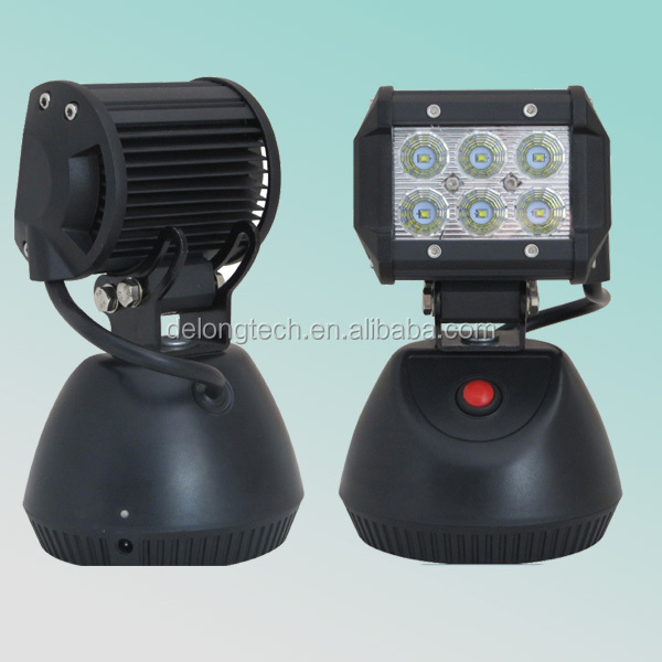 CE RoHS 1260lm 15w portable led 12v work lights