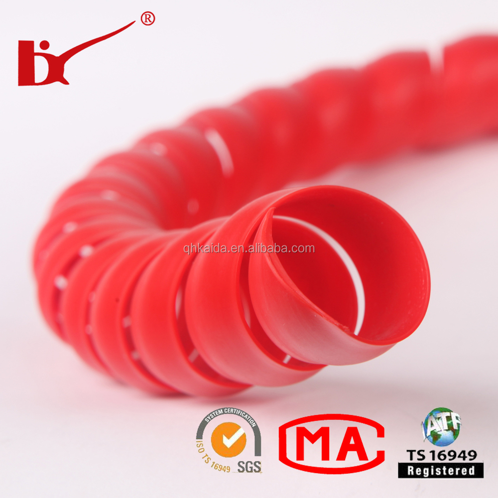 produce high quality plastic spiral hose cord protector for hydraulic pipe